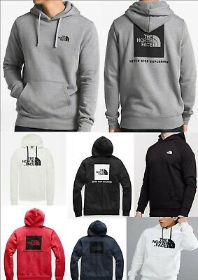 THE NORTH FACE Men's Fleece Box Hoodie - USA Style (Hooded Sweatshirt)