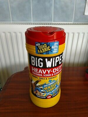 Big Wipes 4x4 Heavy Duty Wipes - Pack of 80