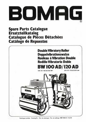 PDF Download Bomag Spare Parts Catalogue Double Vibratory Roller BW 100 120