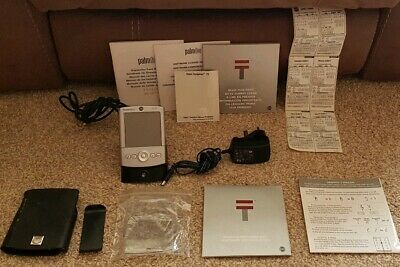 Palm Tunsten T2 Manuals + Charger + Leather Hard Case + Screen Protector Working