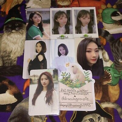 LOONA :: Haseul :: Photocard [ USA ONLY ; SERIOUS BUYERS ONLY ]