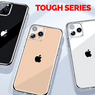 CLEAR Case For iPhone 11 Pro Max XR XS Max 8 7 6 Cover Shockproof Silicone Gel