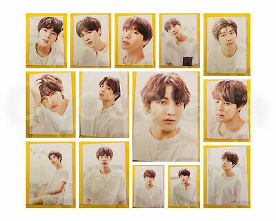 BTS O'Neul Exhibition OFFICIAL Photo Book Photocard RM SUGA JHOPE JIN JIMIN V JK