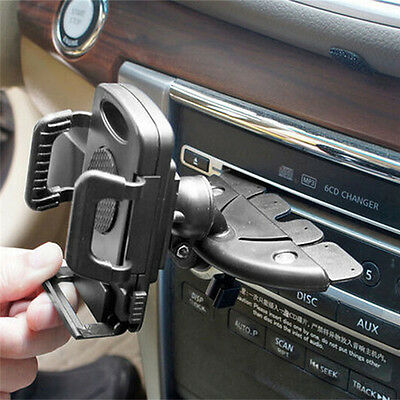 Universal Car CD Slot Phone Mount Holder Stand Cradle For Mobile iPhone·nONCH
