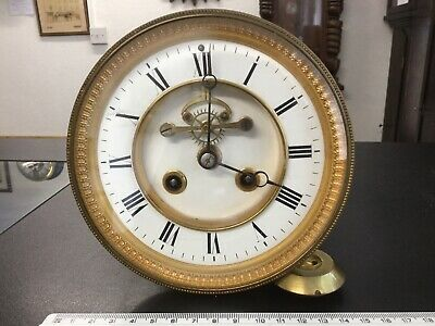 19 Century French Clock Movement Complete