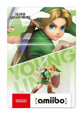 New Nintendo amiibo YOUNG LINK / Switch 3DS Wii / SUPER SMASH BROS Free shipping