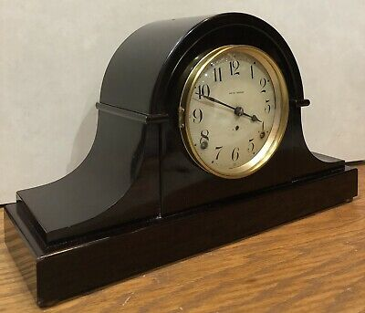 Seth Thomas Adamantine Mantle Shelf Table Clock