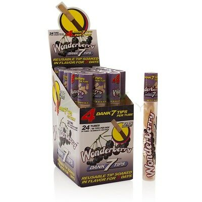 CYCLONES WONDERBERRY WOODDEN TIPS BOX 24x3pcs FILTRI FILTRINI LEGNO AROMATIZZATI