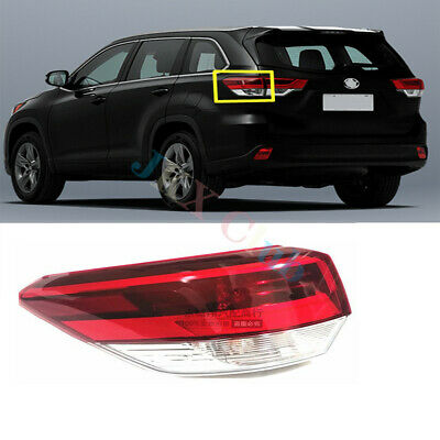 For Toyota Highlander 17~19 Left Side LH Outer Rear Tail Light Brake Lamp Assy j