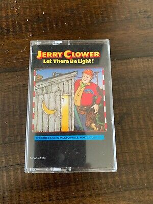 Jerry Clower~Let There Be Light~Comedy Cassette Tape