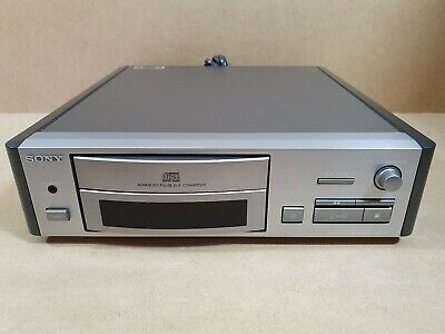 Sony CDP-S1 CD Player La Scala Advanced Pulse D/A Converter Silver