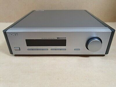 Sony ST-S1 FM AM Tuner La Scala 30 Station RDS EON Silver