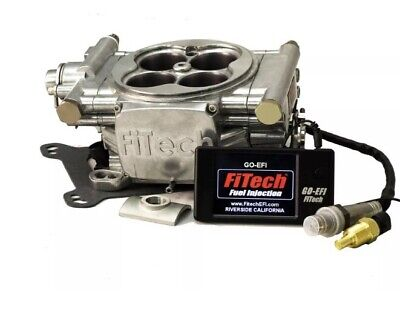 FiTech Fuel Injection 30001 Go EFI 4- 600HP Electronic Throttle Body Polished