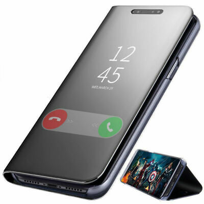 Fr iPhone 11 Pro Max /11Pro 2019 Mirror Smart View Leather Flip Stand Case Cover
