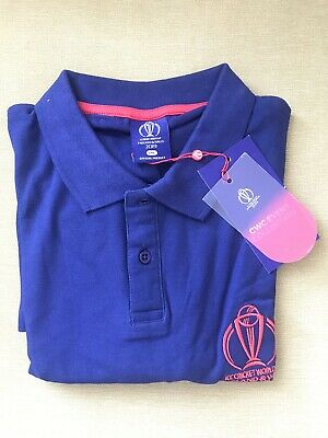 ICC CRICKET WORLD CUP ENGLAND & WALES 2019 Official T-Shirt  2XL