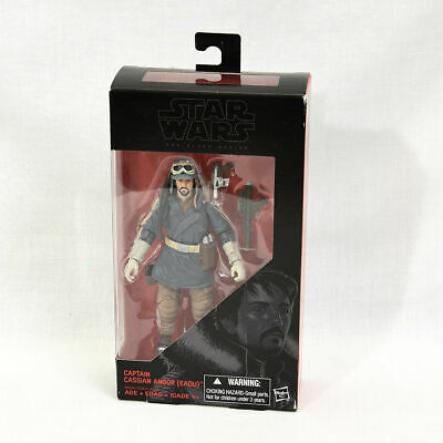 "Hasbro Star Wars Rogue One Black Series Action Figure Cassian Andor 6"" NEW"