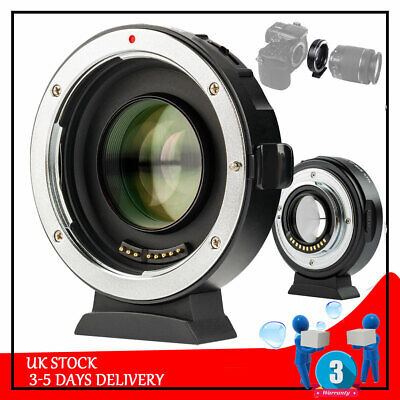 VILTROX EF-M2II Auto Focus Lens Adapter 0.71x for Canon EF Lens for M2II Cameras