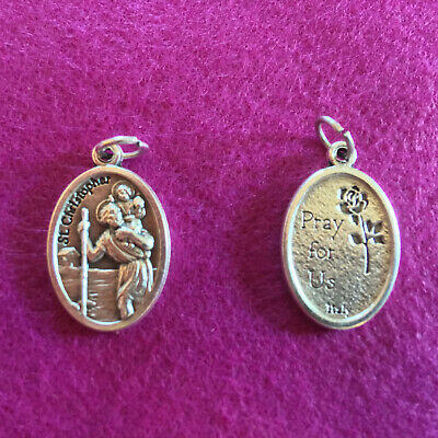 ST. CHRISTOPHER Patron Saint Medal -- NEW -- Great as a Gift!