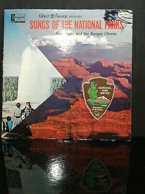 Vtg Disney Songs of the National Parks - Ranger Chorus - Vinyl LP WDL-1005