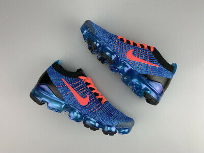 Nike Air Vapormax Flyknit 3 2019  MEN Blue Running Trainers Shoes