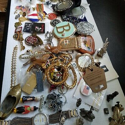 Vintage To Now Misc. Junk Drawer Lot M101*** Please Look At All Pictures***