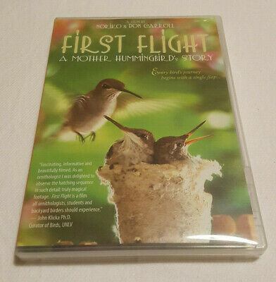 First Flight A Mother Hummingbird's Story Nature DVD Region 1 NTSC US Canada