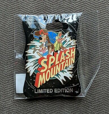 D23 Expo 2019 - MOG WD - Splash Mountain Brer Rabbit Brer Fox Brer Bear Ride Pin