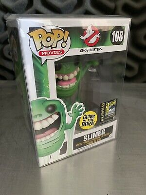 Funko Pop - Ghostbusters - Slimer (GITD) - SDCC 2014 Exclusive