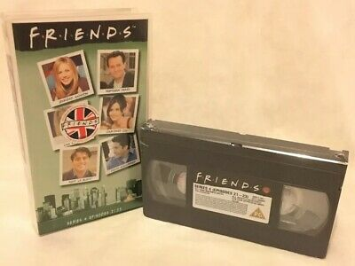 Friends Series 4 Episodes 21-23 VHS Video Cassette Tape 1998 Original New Sealed