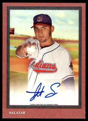 2014 Topps Turkey Red Danny Salazar Auto 50/182 Cleveland Indians #TRA9