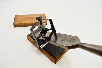 Vintage Millers Falls No. 240 Chisel and Plane Iron Sharpening Guide, Jig