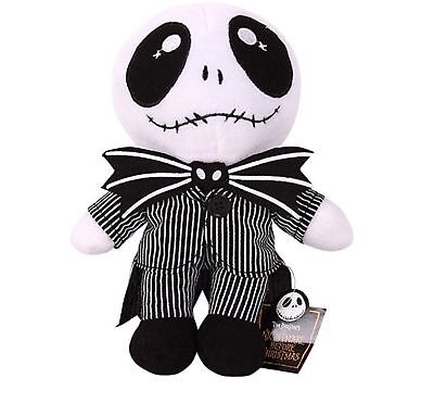 "9"" The Nightmare Before Christmas Jack Skellington Soft Plush Toy Doll Xmas Gift"