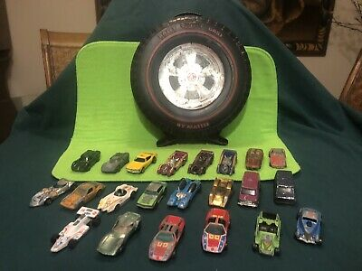 Huge Lot Of Redline Hot Wheels W/ Case Estate Find 22 Cars As Is