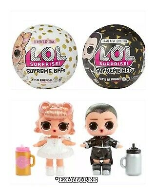LOL Surprise 💞Supreme BFF💞Limited Edition 2 Pack Balls Dolls Sister Brother