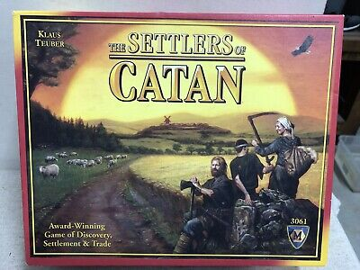 The Settlers of Catan 3061 Mayfair Games 100% Complete NEW SEALED In OPEN BOX