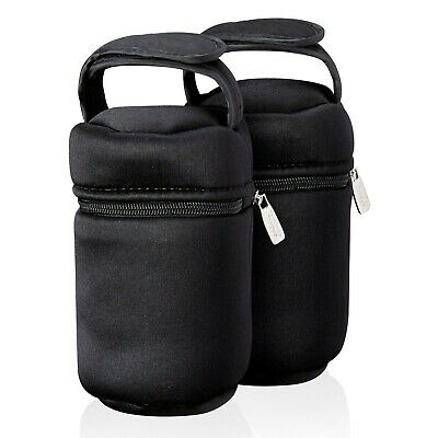 Tommee Tippee Insulated Bottle Bag and Bottle Cooler - Keeps Cold or Warm Bot...