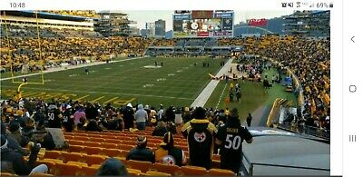 STEELERS vs. BENGALS - 2 lower level tickets - Buy it Now-ends on 9/22