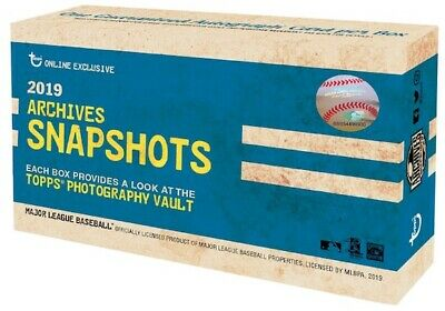 2019 Topps Archives Snapshots YOU PICK Alonso Trout Guerrero Jr. Griffey Jr.