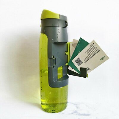 750ml Water Bottle Storage Grid Design Wallet Plastic Outdoor Sports Portable