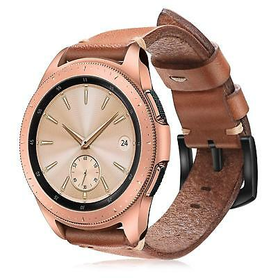 For Samsung Galaxy Watch Active2 44mm / Active 40mm Band Genuine Leather Strap