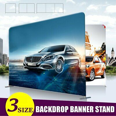 3 Sizes Aluminum Alloy Stand Party Wedding Wall Frame Backdrop Display Banner