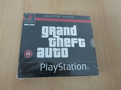 Grand Theft Auto GTA Collectors Edition - PlayStation PS1 New Sealed  pal