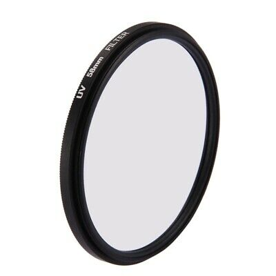 58Mm 3 In 1 Round Circle Uv Lens Filter With Cap For Gopro Hero7 Black/6 I5B5