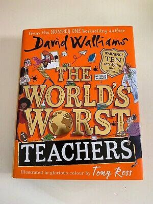 David Walliams Hardback Book The World's Worst Teachers