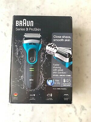 Braun 3080s Wet and Dry Cordless Rechargeable Men's Electric Shaver