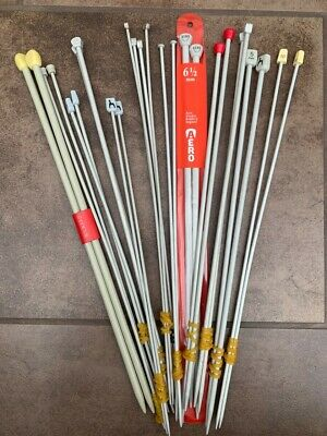 1 pair - Vintage & New Knitting Needles Various Sizes and Lengths to Choose from
