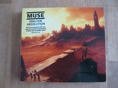 MUSE Sing For Absolution 3-CD/DVD PACK  live tracks EXCLUSIVE DUTCH ONLY
