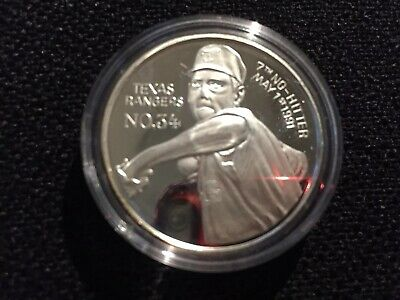 1oz Silver Nolan Ryan Most No Hitters Coin - Limited Edition