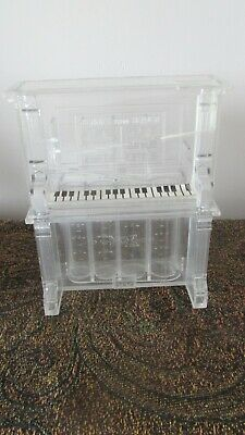 """Vintage """"Pennies From Heaven"""" Acrylic Piano Coin Sorter    Free Shipping"""
