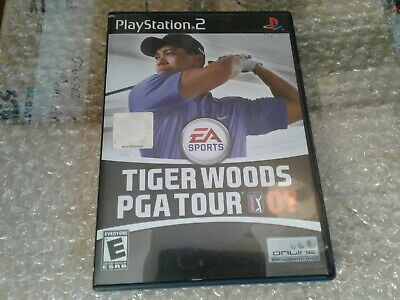 Tiger Woods PGA Tour 07 (Sony PlayStation 2, 2006) Ea Sports video game golf ps2